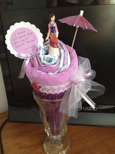 Disney princess shower gift...diy