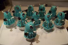 Dalek cupcakes!