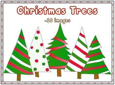 Christmas Trees...10 images for $1.00
