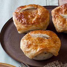 Mini Chicken Pot Pies - great idea for leftover chicken and veggies.