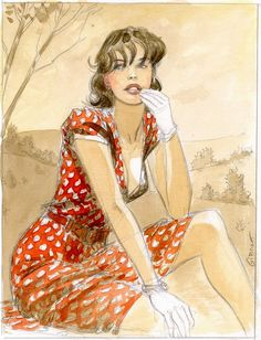 Jean-Pierre Gibrat: Pin Up and Cartoon Girls