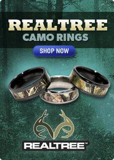 Camo Rings & Camo Wedding Rings -