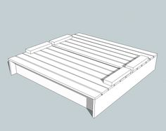 Plan for sandbox with bench seats