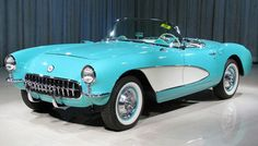 57 chevy convertible - this is a better color