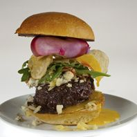 Wagyu Burger With Duck Egg and Pickled Mushroom Ketchup - You've seen ...