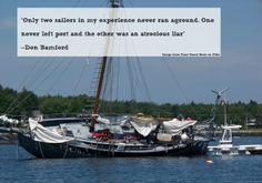 Run Aground Sailing Quote