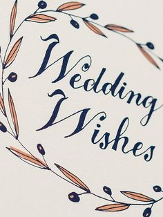 Wedding Wishes Card  | Sycamore Street Press