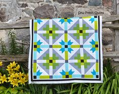 Friday Finish - a baby boy quilt top