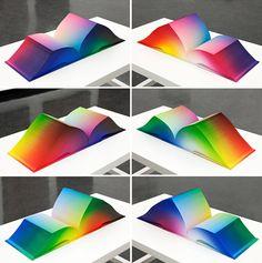 Tauba Auerbach's RGB Colorspace Atlas