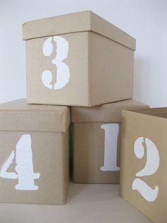 DYN Cardboard Boxes ♥