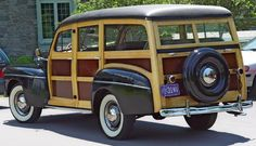 A Classic Woody Wagon. Even if only for one summer... I would truly love to see this in my driveway. Since I could drive, this has been on my 'dream drive' list :) . #surfer #vintage #car #restored