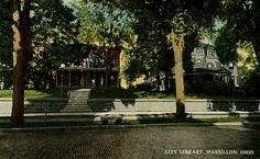 1914 City Library, Massillon, Ohio