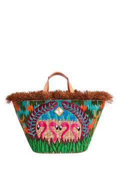 Aranaz Llog Tote Bag by Aranaz for Preorder on Moda Operandi