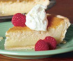 Buttermilk Pie by Fine Cooking