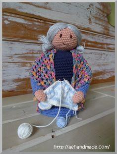 Amigurumi Grandmother - FREE Crochet Pattern / Tutorial