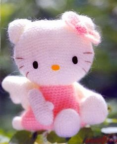 Hello Kitty Amigurumi on Pinterest Hello Kitty Crochet ...
