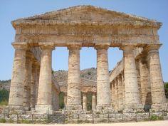 Segesta Temple, Trapani, Sicily, Italy.