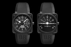 """Bell & Ross """"Flight Instruments"""" Collection"""