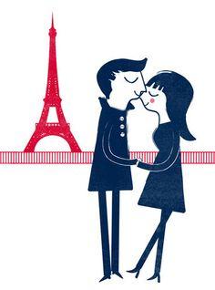 Parisian Print Series by Blanca Gomez
