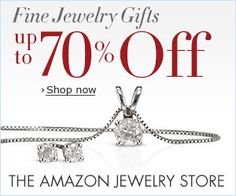 Up to 70% on Fine Jewelry on Amazon