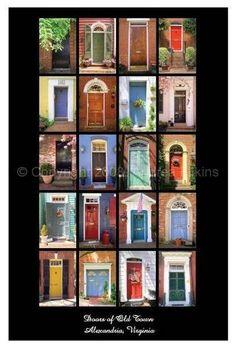 doors of Alexandria, VA