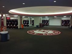 Alabama Football Locker Room! Looks even better in person!