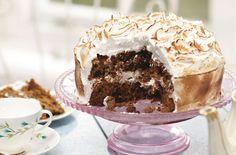 Stacie Stewart's skinny carrot meringue cake