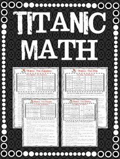 *FREE* Titanic Math