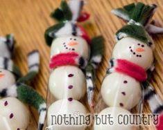 Adorable Snowman Gumballs DIY
