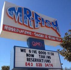 Myrtle beach the kids it on pinterest for Mr fish myrtle beach sc