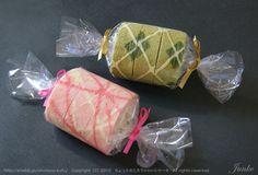 Argyle and Stripes Cake Rolls