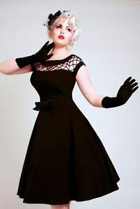 Black dress circles, fashion, style, circle skirts, vintage, bridesmaid dresses, the dress, bettie page, little black dresses