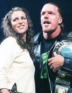 Stephanie McMahon & Triple H #wwe