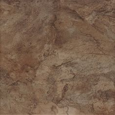 Style Selections 7-Pack Canyon Espresso Glazed Porcelain Floor Tile (Common: 18-in x 18-in; Actual: 17.72-in x 17.72-in)