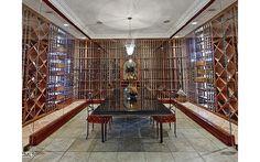 Luxurious wine cellar