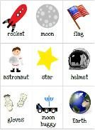 Free download - Pre-school Space Unit - they even have a lesson plan to download underneath this one!
