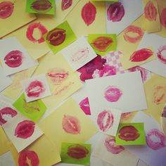 A dónde van los besos que no damos – #Manualidad #romántica- Muchos #besos para regalar