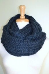 Enjoy this gorgeous and soft knitted infinity scarf all season long.  It is functional and versatile from day-to-night. $24.99 Use code PINIT at checkout for 10% off your entire order.