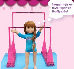 How to Make Gymnastics Uneven Bars for Dolls