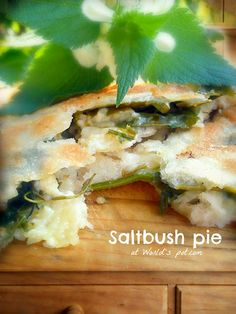 Saltbush pie or Vărzări cu lobode