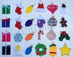 etsy $1.25 advent ornaments