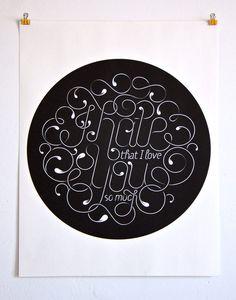 Beautiful Typographic Work by Jordan Metcalf