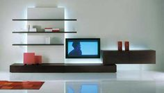 Pareti attrezzate on Pinterest  Wall Units, Home Theaters and Murals