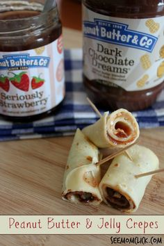 Lunchbox Makeover- Peanut Butter and Jelly Crepes #SaverTips