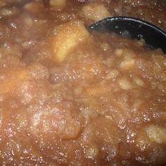 Spiced Applesauce