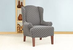 Sure Fit Slipcovers: Crushing On Chevron!