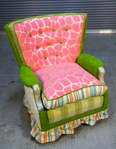 Chair collection - Happy Chair by Shawna Robinson