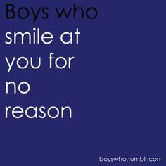 Boys who...