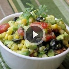 Avocado Salsa | Serve this south of the border flavor explosion with tortilla chips.