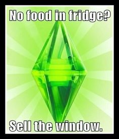 The Sims. Exactly.